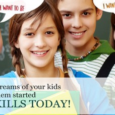 Don?t let the big dreams of your kids fizzle away, get them started on life skills today!